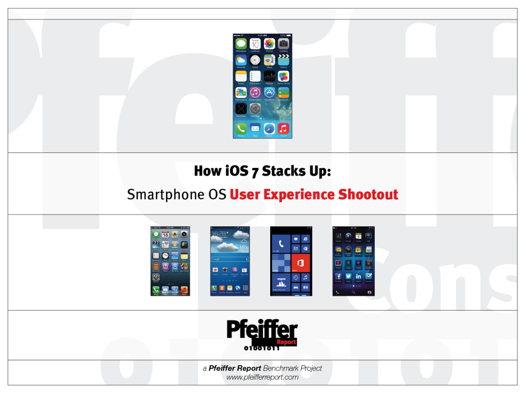 How iOS 7 stacks up: Smartphone OS User Experience Shootout
